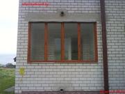 Изготовление балконных рам. Обшивка вагонкой.
