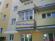 Балконные рамы из алюминия.