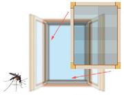 Москитные сетки. Установка,  регулировка и ремонт окон ПВХ