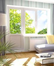 Алюминиевые либо пластиковые,  оконные и балконные рамы,  монтаж в Могил