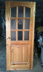 Двери межкомнатные,  массив-сосна