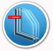 Стеклопакеты,  замена обычных стёкол на однокамерные и двухкамерные