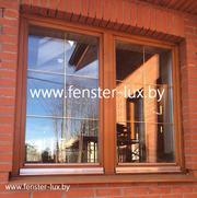 Продажа деревянных и пластиковых окон от Фенстер