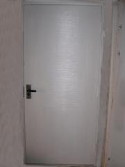 Дверь входная из новостройки