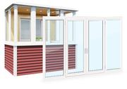 Окна пвх для квартиры,  дачи и загородного дома от производителя