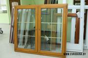 Деревянные окна - сосна,  дуб,  лиственница